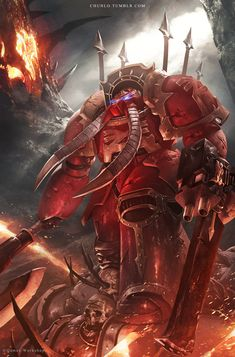 Khorne Terminator by ChunLo on DeviantArt
