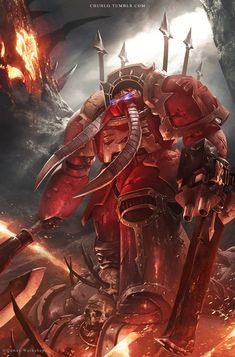 Khorne Terminator by ChunLo on DeviantArt