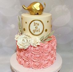 Attractive Baby Shower Cake