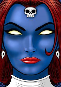 Mystique by Thuddleston.deviantart.com on @DeviantArt