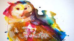 Barbagianni / Animali Toscani - Stampa Digitale HQ di DisGrafica su Etsy