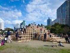 Mountain Gym, Makoto Tanijiri, Tokyo, 2012 - Playscapes
