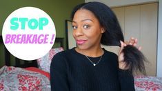 How To Stop Hair Breakage & Retain Length   Natural Hair