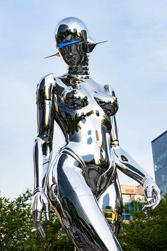 dream pop Showing: Hajime Sorayama x Dior Traveling Pop-Up Store Arrested Motion Cyborg Girl, Female Cyborg, Character Art, Character Design, Arte Robot, Arte Cyberpunk, Retro Futuristic, Futuristic Armour, Space Girl