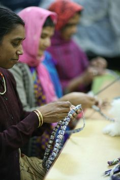 Quality checking for upcycled fashion accessories for Mehera Shaw Foundation women's development project. Ethical Fashion, Fair Trade, Print Design, Fashion Accessories, Interview, Artisan, Foundation, Magazine, Sustainable Fashion