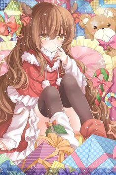 #anime#manga#otaku#art#animeart#animegirl #cosplay#animeedits#kawaii#loli#animegirls #animeworld #art #amvedit #animefan #animedrawing #animefans #animelife#aesthetic ♡ hola si quieres ver mas contenido, síguenos te lo agradecemos mucho.♡ Este wallpaper no nos pertenece créditos a su creador. Read Anime, Manga Anime, Tsundere, Kawaii Anime, Otaku, Cute Anime Pics, Noel Christmas, Christmas Girls, Xmas