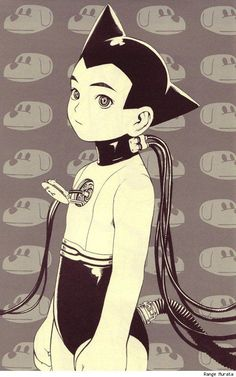 Astro Boy by Range Murata - known for his unique style combining Art Deco and Japanese anime elements. S)
