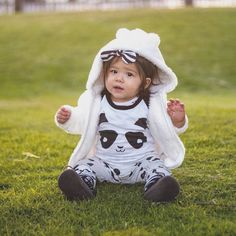 Baby and toddler leggings panda See this Instagram photo by @little.plaid.bear • 94 likes
