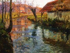 Frits Thaulow ~ Skagen painter | Tutt'Art@ | Pittura * Scultura * Poesia * Musica |