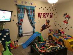My sons new room!
