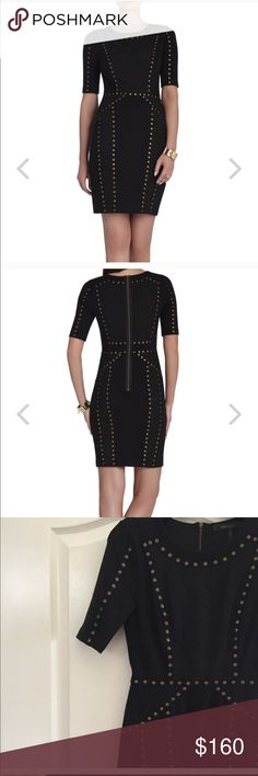 Bcbg dress Excellent condition! Worn once!!! Staple dress! LOVE IT!! But got too many compliments to wear it again (which is sad lol) BCBGMaxAzria Dresses Midi