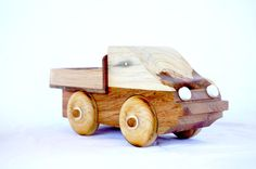 Handmade Wooden Tray Back Ute