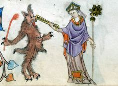 Luttrell Psalter, England c.1325-1340. British Library.