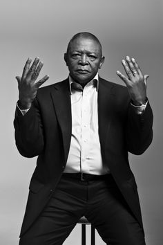 Hugh Masekela - South African musician.