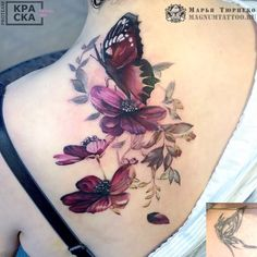 Cute Tattoo Ideas For Women – Be Creative When Deciding On Cute Tattoo Designs - Read these tips and guide for cute back tattoos -> Should you be considering having tattoo, discove - Back Tattoos, Rose Tattoos, Sexy Tattoos, Flower Tattoos, Body Art Tattoos, Small Tattoos, Sleeve Tattoos, Tattoos For Women, Tattoos For Guys