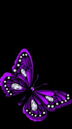 Two of my favorite things together. A purple Butterfly. My name means butterfly and its purple omg The Purple, All Things Purple, Shades Of Purple, Purple Stuff, Purple Camo, Purple Glass, Purple Quotes, Color Quotes, Malva