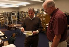 Archivist, volunteers keep Shilling Local History Room moving