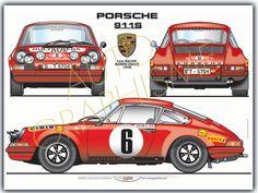 Porsche 911 S Monte Carlo