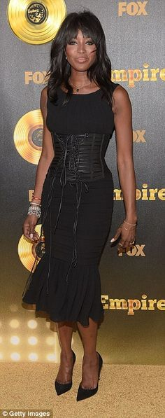 Naomi Campbell at the at the Empire premiere in Hollywood on Tuesday night.