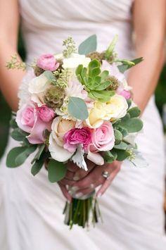 Ramos de novia con suculentas | Cuidar de tus plantas es facilisimo.com