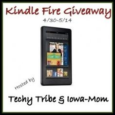 #Giveaway Kindle Fire
