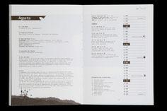 almanacco libro impaginazione grafica 2012