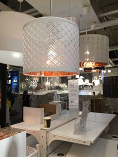 Sneak peek pinterest pendant lamps pendants and 50th ikea light nymo 37 whitecopper 25 aloadofball Image collections