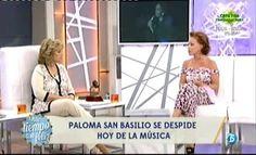 Paloma San Basilio anuncia su retirada en QTTF y presenta su última gira
