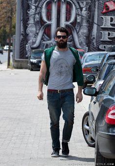 Dimitris Alexandrou - Photo by Athens-Streetstyle.com