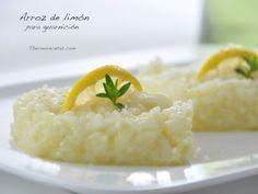 Arroz de limón, un buen acompañamiento para carne o pescado