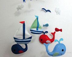 Bebé móvil  estrella de mar cuna  caballo de mar y sus