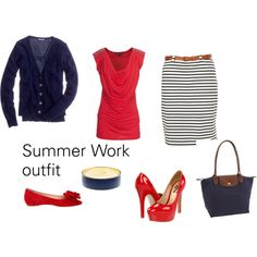 Summer Work Outfit, created by cake65