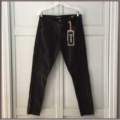 """HP! NWT Amazing  Black Zipper Ankle Jeans BACK To SCHOOL!🌻🌾7/8 Host Pick! """"Work week Chic ! Cute Ankle Zippers, flap pockets! two side pockets, Two flat front pockets! Cute leg design I cannot get in the pic! These are fantastic! Made to perfection! I have these! When I tried them on I bought two pair! My shopaholic personality! These are an 8 inch rise and 28inseam 🌻🌾🌻🌾🌻🌾7/8 HP chosen by @mickydkat please go check out her fabulous closet…"""