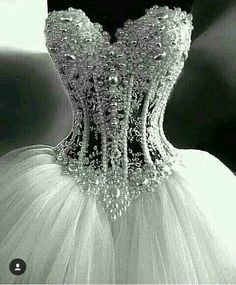 beaded lace wedding gown on sale at reasonable prices, buy Luxurious Bling Strapless Wedding dresses Corset Bodice Sheer Bridal Ball Crystal Pearl Beads Rhinestones Tulle Wedding Gowns from mobile site on Aliexpress Now! Tulle Wedding, Dream Wedding Dresses, Bridal Dresses, Wedding Dresses With Bling, Ivory Wedding, Wedding Dress Corset, Strapless Corset, Mermaid Wedding, Ball Gown Wedding Dresses