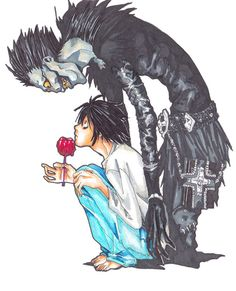 death note fan art tumblr - Buscar con Google