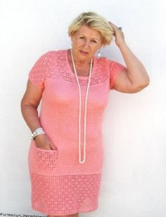 Вязаные тунику отлично подойдут женщинам, которые хотят скрыть недостатки фигуры (животик, полные бока, бедра).Метки: вязаное платье, платье, платье крючком.