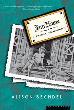 """""""For those of you who are wary of a graphic novel, let me put you at ease: Alison Bechdel's tragicomic is for the truest of literary lovers, as she explains her relationship with her father through their mutual love of books and the art of storytelling. This book is first and foremost a daughter's retelling of history, with Bechdel's illustrations as complement and guide."""" - Lauren Araujo"""