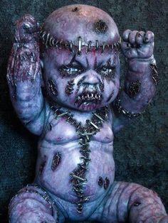 Creepy and broken dolls