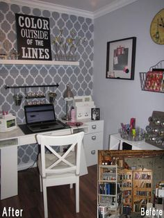 Imaginative Craft Rooms from Around the Web   Apartment Therapy
