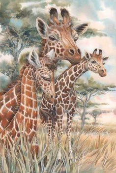 """DIY Diamond Painting """"giraffe"""" Embroidery Rhinestone Mosaic Home Decor Gift Giraffe Painting, Giraffe Art, Diy Painting, Giraffe Quotes, Giraffe Pictures, Creative Activities, Spirit Animal, Beautiful Creatures, Cute Animals"""