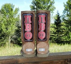 Pi Beta Phi boots