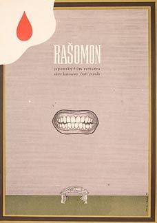 Posteritati: RASHOMON 1970 Czech 11x16 From my personal collection