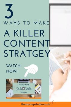 Your 3 Word Content Creation Strategy — The Start-Up Studio Content Marketing Strategy, Media Marketing, Digital Marketing, Social Media Scheduling Tools, Etsy Seo, Facebook Business, Blogger Tips, Blog Writing, Pinterest Marketing
