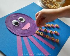 A simple octopus craft you can do with stuff you probably already have.