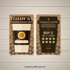 Loyalty Card Design, Loyalty Card Template, Coffee Shop Business, Bakery Business, Menu Engineering, Bubble Milk Tea, Coffee World, Coffee Stands, Coffee Truck