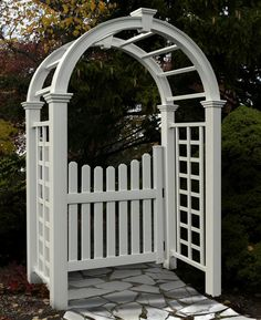 New England Arbors Nantucket Deluxe Arbor #giftideas