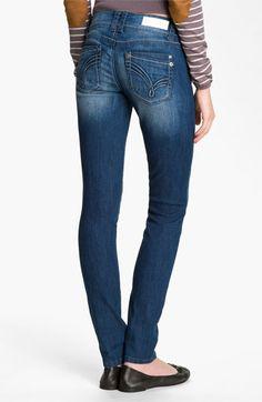 Jolt 'J' Pocket Skinny Jeans (Juniors)   Nordstrom