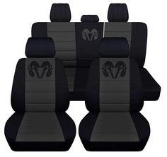 Fits 2012 to 2018 Dodge Ram Front and Rear Ram Seat Covers 22 Color Options (Solid Rear Bench, Black Charcoal) Dodge Ram Diesel, Cummins Diesel, Dodge Cummins, Dodge Trucks, Diesel Trucks, Dodge Nitro, Ram Trucks, Pickup Trucks, Dodge Dakota