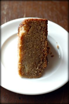 Whole-Grain Apple Butter Cake (gluten-free)