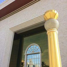 Entrada do templo de salomao da igreja universal